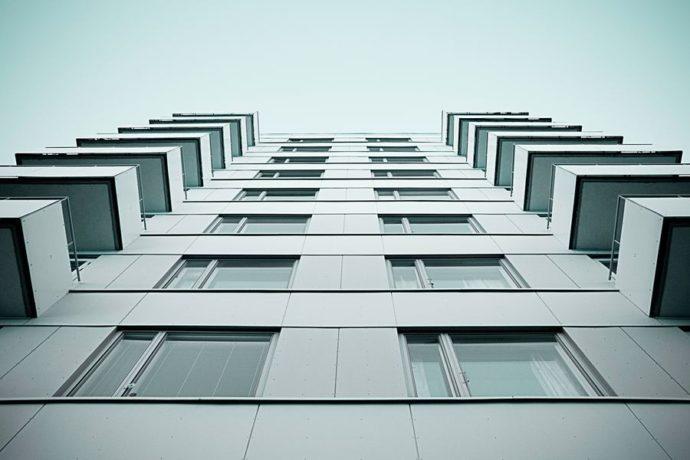 Blok mieszkanie i deweloper